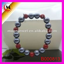 MIXED PEARL BEADS MAGNETIC BRACELETS 2012