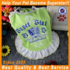 JML 2014 newest hot selling green exquisite fashionable pet dogs clothes