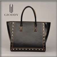 China supplier Hot selling famous brand Latest design leather lady handbag