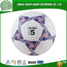 promotional Emboss logo Rubber soccer ball football manufacturers factory& suppliers