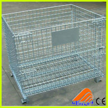 wire metal cage storage container,wire mesh lid,wire mesh baskets for storage