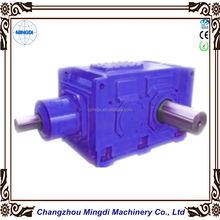 Agricultural Machines GMC Bevel Helical Cylindrical Reducer Gearbox Transmission Part Assembly with Electrical Motor