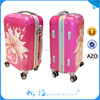 New design good quality trolley travel PC luggage set