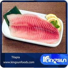 Wholesaler Frozen Tilapia Fish Fillet