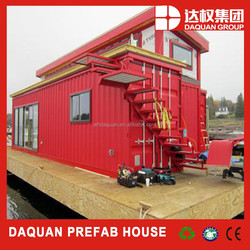 cheap cost for prefab container house/shipping container homes two layers