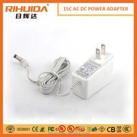 5V 3A 15W AC/DC GS Power Adaptor