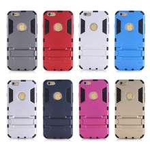 Kickstand Hybrid Defender Armor Protective Case for S5/S6/S6 Edge /for iPhone 6/ 6 Plus Heavy Duty Hybrid case