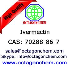 veterinary medicine, antiparasitic drug, EP,USP Ivermectin powder, High quality 70288-86-7 Ivermectin