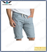 Young men twill casual comfortable popular wearing latest men shorts