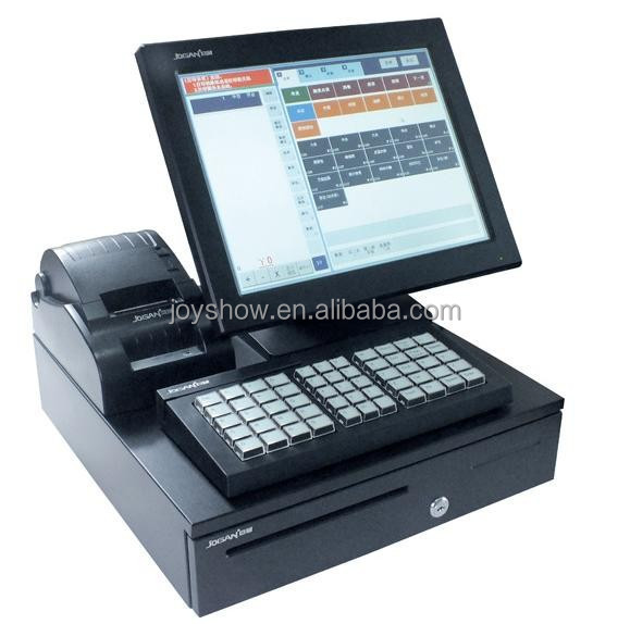Retail Restaurant Touch Screen Pos System Terminal For