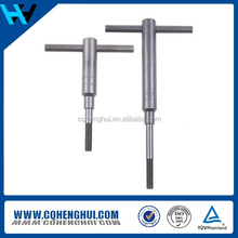 High quality and best price DIN933 titanium hex head screws with fine thread