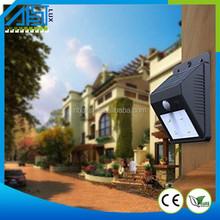 2015 Solar Power 6 LED PIR Motion Sensor Light Outdoor Garden Wall Sensor night light