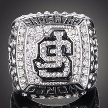 The world football league, San Francisco nfl championship ring,men fashion diamond ring(SWTPR1105)