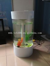Round Acrylic LED fish aquarium
