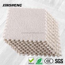 Popular in Korea plush shaggy carpet puzzle mat