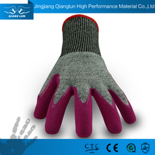 QL 13G Top Quality Sandy Nitrile Coated labor protective gloves