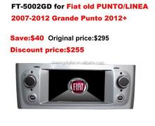 Fiat Grande Punto gps Support original car amplifier
