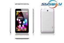 7 Inch High Quality Dual Core 0.3MP/2.0MP Android 3G Tablet PC