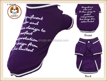 Wholesale Clothes Summer Polo T Shirts For Small Dogs 2015 New Pets Products Clothing