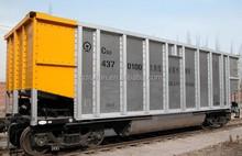KM70 Hopper wagon, trailer, mine transportation, heavy duty wagon car