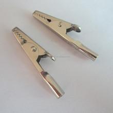2015 non rust iron battery clips / alligator clips / crocodile clips,small metal clips