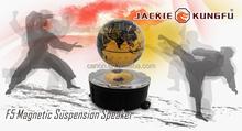 2015 New Creative ,best magnetic bluetooth speaker ,New Invention ! Maglev floating speaker for Promotion Gift !