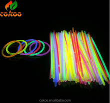 Promotion electrical flashing led Multi Color Glow Fluorescence Light Glow Sticks Bracelets Necklaces Neon Xmas Party Birthday