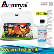 No pretreatment needed DTG ink digital textile ink compatible for Epson 4880/7880