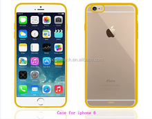 wholesale transparent plastic phone case for iphone 6 to protect the phone