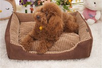 comfortable soft plush bed for dog cat small animal pet products