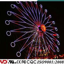 YD IP68 RGB color change ferris wheel lighting