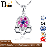 2015 new design crystal angel pendant, alibaba website silver jewelry wholesale angel pendant for girl
