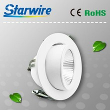 Professional led trunk light 30W 90LM/W/modern design gimble downlight