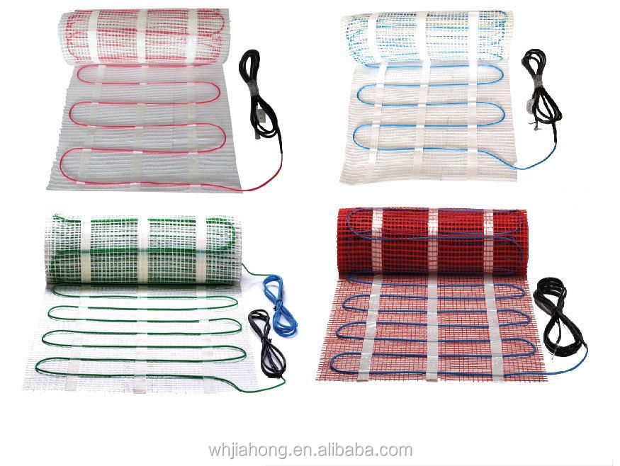120v 240v 39 ul standard tapis de plancher chauffant chauffage au sol mat l 39 int rieur autres fils. Black Bedroom Furniture Sets. Home Design Ideas