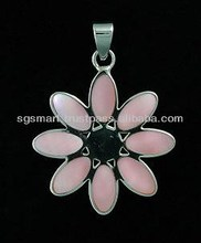 Mother of Pearl Silver Pendant 925 Jewelry Wholesale Factory in Thailand..