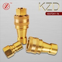 KZD female brass tapered shaft coupling