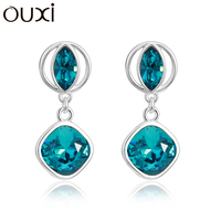 2015 fashion colorful earring made with Swarovski Elements20719