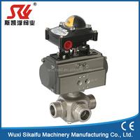 cf8m stainless steel ball valve