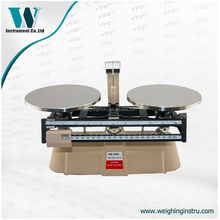 double weighing pan mechanical beam balance