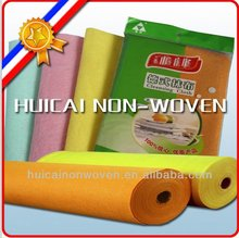 Super water and oil absorption needle punched nonwovens multi purpose magic clean kitchen wipers