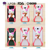 Universal silicone case custom cute animal shape silicone cheap mobile phone case
