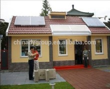 green and energy-saving nano-composit panels prefabricated houses