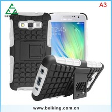 2015 Shockproof Plastic Case For Samsung A3 PC+TPU Case, For Samsung A3 Protector Case