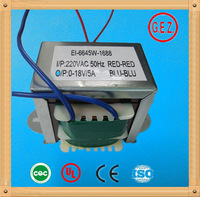 Ei 66 series 20.0va to 50.0va ce ul cqc high capacity transformer