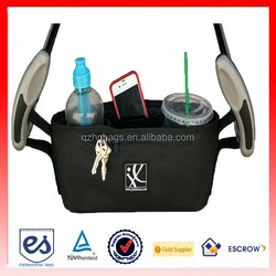 2015 Fashion Baby Bag Hanging Stroller Organizer With Velcro(ESL-CO004)