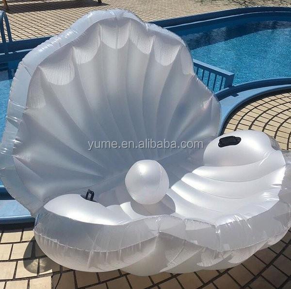 Aufblasbare Muschel Luftmatratze