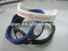 New design silicon bracelet power silicone balance for sports