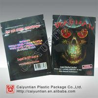 4g 10g Joker /Mind trip/Dead man walking foil zip top herbal incense bag