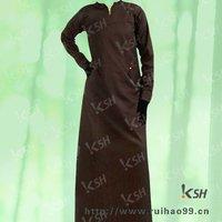 100%cotton urban studio silk route abaya in dubai black style