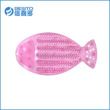 new design cute the shape of fish bathroom washboard bathroom mat sets